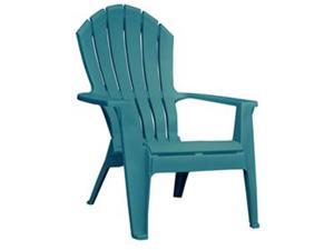 Adams Manufacturing 227464 Resin Stackable Adirondack Chair, Teal