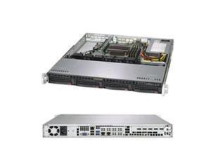 Supermicro SuperServer 5019C-M Barebone System - 1U Rack-mountable - Intel C246 Chipset - Socket H4 LGA-1151 - 1 x Processor Support - Black