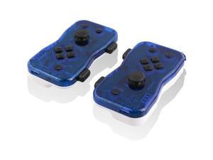 Nyko 87272NY Dualies Motion Controller Set for Nintendo Switch - Blue & White