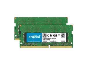 Crucial 8GB Kit (4GBx2) DDR4 2666 MT/s (PC4-21300) CL19 x8 SODIMM 260-Pin Memory - CT2K4G4SFS8266