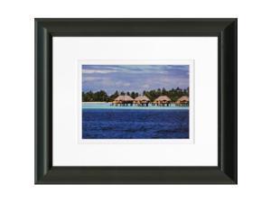 Timeless Frames 55356 8 x 10 in. Bora Bora Bungalows Photo Frame