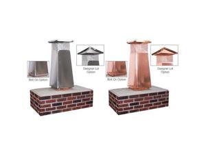 Olympia 3602759 8 x 8 in. Stainless Steel Flue Extension with 34 in. High Performance