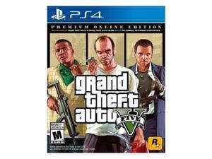 Take-Two 57032 GTA V PremiumOnline Edition PlayStation 4 Game
