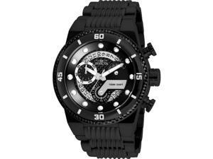 Invicta 886678306343 Mens 25284 S1 Rally Quartz Multifunction Black Dial Watch