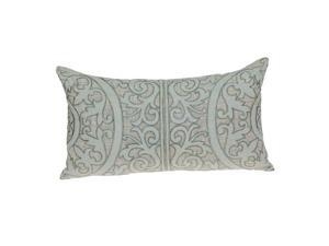 Parkland Collection PILF21008P Fluera Traditional Beige Pillow Cover with Poly Insert