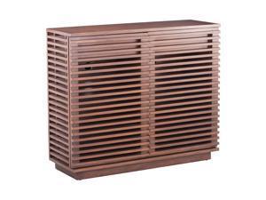 Offex Home Office Furniture Linea Cabinet Walnut