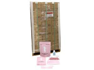 Health Pack All-in-One Personal Protection Kit (54 Case = 1080 Individual kits) for Adults 12+ Years - Includes: 1 Hand Sanitizer (50ml), Wet Wipes (25 count), Single-Use Face Masks (10 pcs) - Pink