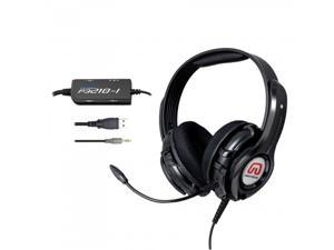 GamesterGear Cruiser PS3210 2.1 Amplified Stereo Gaming Headset w/mic - Black