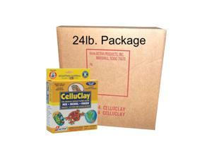 CelluClay Activa Package of Instant Papier Mache 24 lb - Gray