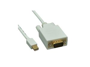 Offex Mini DisplayPort to VGA Video Cable, Mini DisplayPort Male to VGA Male, 6 foot