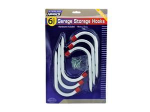 Garage Storage Hooks - Pack of 4