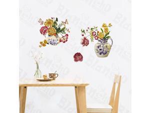 Home Kids Imaginative Art Flowerpot - Wall Decorative Decals Appliques Stickers