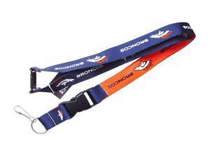 9835fca3b Denver Broncos Clip Lanyard Keychain Id ...