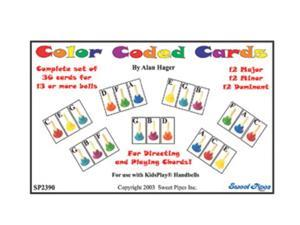 Rhythm Band Handbell Cards 36 Chords 20 Notes