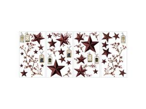 Roommates Decor Stickers Country Stars And Berries Wall Decals