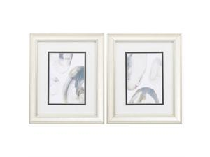 Propac Images 1300 Home Decorative Double Matted Natural Geode Wall Art - Pack of 2