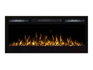 """Gibson Living GL2036WS Madison 36"""" Pebbles Recessed Wall Mounted Electric Fireplace"""
