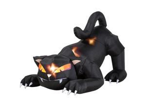 Airblown Animated Black Cat