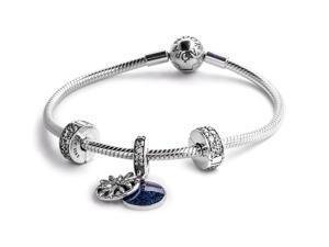 PANDORA Dazzling Wishes Bracelet Gift Set Size 17
