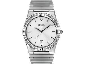 Bulova Diamond Mens Watch 96E100