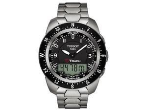 T-Touch Expert Pilot Titanium Mens Watch T0134204405700