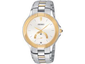 Seiko Two-Tone Mens Watch SRK018
