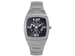 Seiko Mens Kinetic Stainless Steel Watch SNG037