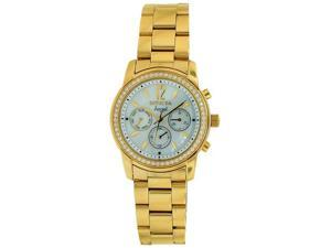 Invicta Angel Crystal Accented Gold-Tone Ladies Watch 11771