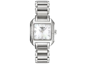 Tissot T-Trend T-Wave Ladies Watch w/ Mother of Pearl Dial
