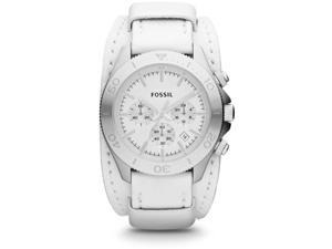 Fossil Retro Traveler Leather Chronograph Ladies Watch CH2858