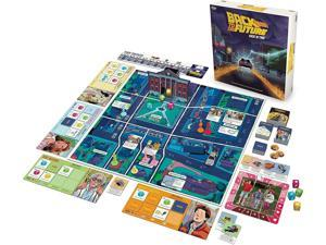 Back To The Future Back In Time Funko Board Game   2-4 Players