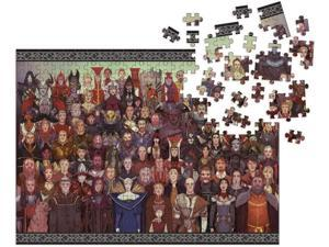 Dragon Age: Cast of Thousands 1000 Piece Jigsaw Puzzle