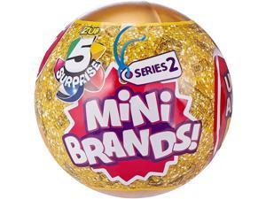Zuru 5 Surprise Mini Brands Mystery Capsule Series 2   5 Random Mini Toys