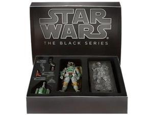"Star Wars Black Series Comic Con 6"" Boba Fett And Han Solo In Carbonite"