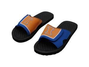 Illinois NCAA Mens Shower Slide Flip Flops X-Large