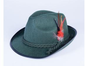 Deluxe Green Octoberfest Adult Costume Hat