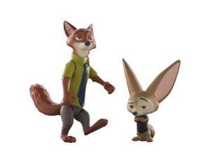 Disney Zootopia Character 2-Pack Nick & Finnick Figures