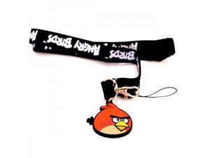 Angry Birds Lanyard Keychain Red Bird