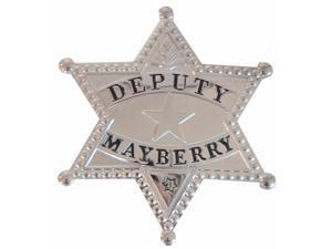 Deputy Mayberry Metal Badge Prop