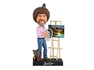 "Bob Ross 8"" Polyresin Bobblehead"