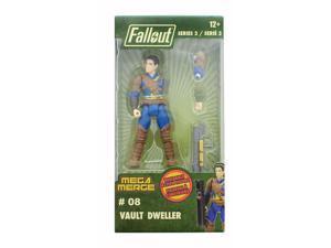 Fallout 4-Inch Mega Merge Action Figure Series 2 - Vault Dweller