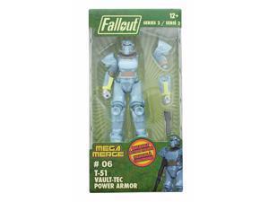 Fallout 4-Inch Mega Merge Action Figure Series 2 - T-51 Vault-Tec Power Armor