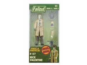 Fallout 4-Inch Mega Merge Action Figure Series 2 - Nick Valentine