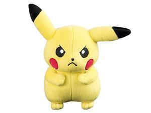 Pokemon Basic 8-Inch Plush - Angry Pikachu