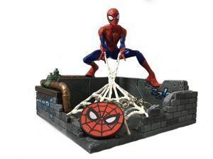Marvel Spider-Man Finders Keypers Statue | Official Spider-Man Key Holder Figure