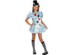Alice In Wonderland Dress Costume Tween Medium