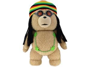 "Ted 24"" Talking Plush With Moving Mouth: Rasta Ted (Rated PG)"