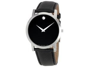 Movado Mens Museum Series Stainless Steel Watch 0606179