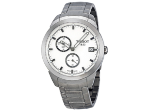 Tissot Titanium GMT White Dial Mens Watch T0694394403100