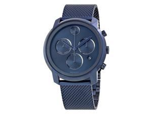 Movado Bold Ink Blue Dial Chronograph Mens Watch 3600403